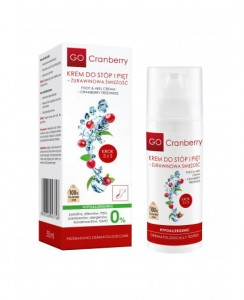 GO CRANBERRY KREM DO STÓP I PIĘT 50ML