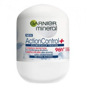 GARNIER MINERAL DEO ROLL ON 50ML ACTION CONTROL CLINICALLY