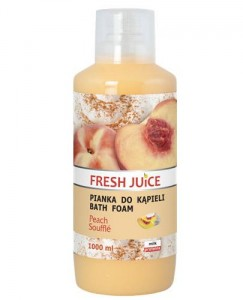 FRESH JUICE PIANKA DO KĄPIELI PEACH SOUFFLE 1000ML