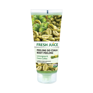 FRESH JUICE PEELING DO CIAŁA LEMONGRASS GREEN COFFE 200ML