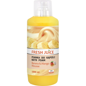 FRESH JUICE PIANKA DO KĄPIELI BANANA MANGO MOUSSE 1000ML