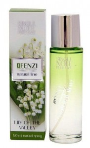 JFENZI NATURAL LINE LILY OF THE VALLEY WODA PERFUMOWANA 50ML