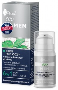 AVA ECO MEN ŻEL KREM POD OCZY 15ML
