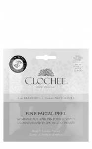 CLOCHEE DROBNOZIARNISTY PEELING DO TWARZY 2x6ML