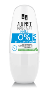 AA ALU FREE DEO ROLL-ON MINERAL 50ML