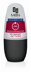 AA MEN DEO ROLL ON  ADVANCE CARE ACTION 50ML