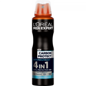 L'OREAL MEN EXPERT DEO SPRAY 150ML CARBON PROTECT