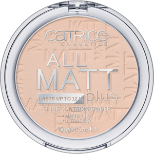 CATRICE PUDER MATUJĄCY ALL MATT PLUS 010 TRANSPARENT 10g