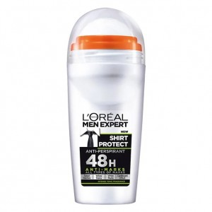 L'OREAL MEN EXPERT DEO ROLL ON 50ML SHIRT PROTECT