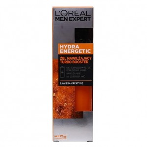 L'OREAL MEN EXPERT HYDRA ENERGETIC KREM ŻEL NAWILŻAJĄCY TURBO BOOSTER 50ML