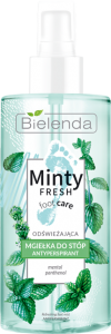 BIELENDA MINTY FRESH FOOD CARE MGIEŁKA DO STÓP ANTYPERSPIRANT 150ML