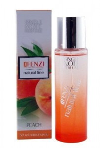 JFENZI NATURAL LINE PEACH WODA PERFUMOWANA 50ML