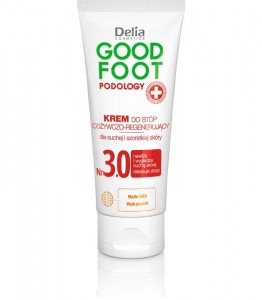 DELIA GOOD FOOT 3.0 KREM DO STOP ODŻYWCO-REGENERUJĄCY 100ML